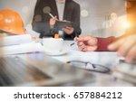 cooperation corporate...   Shutterstock . vector #657884212