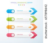 business  infographics ... | Shutterstock .eps vector #657898642