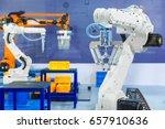 controller of industrial...   Shutterstock . vector #657910636