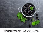 Blackcurrant Berries With...