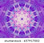 abstract decorative violet... | Shutterstock . vector #657917002