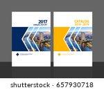 cover design for annual report... | Shutterstock .eps vector #657930718