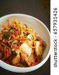 Small photo of Kimchi, Korean traditional side dish