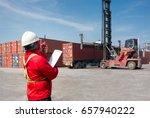 foreman control loading... | Shutterstock . vector #657940222