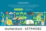 modern flat infographic ecology ... | Shutterstock . vector #657940582