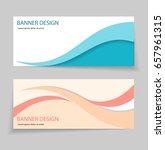 abstract wavy banner  header...   Shutterstock .eps vector #657961315