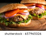 close up photo of home made... | Shutterstock . vector #657965326