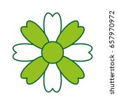 natural flower spa icon   Shutterstock .eps vector #657970972