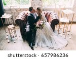 bride and groom  the bride and... | Shutterstock . vector #657986236