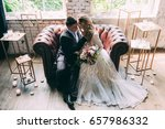 bride and groom  the bride and... | Shutterstock . vector #657986332