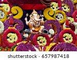 ganpati. | Shutterstock . vector #657987418