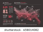futuristic infographic.... | Shutterstock .eps vector #658014082