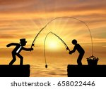concept of social economic... | Shutterstock . vector #658022446