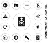 set of 12 editable multimedia...