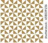 japanese seamless pattern. gold ... | Shutterstock .eps vector #658039156