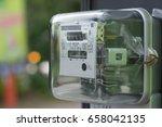 electric meter   Shutterstock . vector #658042135