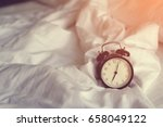 at seven o'clock in the morning | Shutterstock . vector #658049122