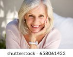 close up portrait of mature... | Shutterstock . vector #658061422