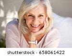 close up portrait of mature... | Shutterstock . vector #658061422