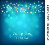 eid mubarak background.   Shutterstock .eps vector #658072555