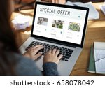 e commerce online shopping... | Shutterstock . vector #658078042