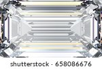 3d illustration crop diamond... | Shutterstock . vector #658086676