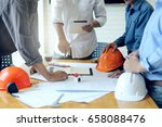 business objects of team... | Shutterstock . vector #658088476