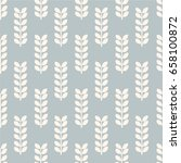 seamless pattern  leaf art ... | Shutterstock .eps vector #658100872