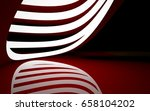 abstract interior of the future ... | Shutterstock . vector #658104202