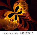 computer generated fractal... | Shutterstock . vector #658119418