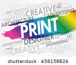 print word cloud  creative