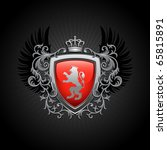 coat of arms. vector...   Shutterstock .eps vector #65815891