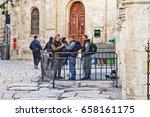 jerusalem  israel   december 26 ... | Shutterstock . vector #658161175