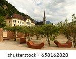 vaduz  liechtenstein. old... | Shutterstock . vector #658162828