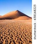 dune 45 in namib desert  namib... | Shutterstock . vector #658168225