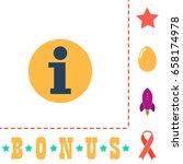 info icon illustration. flat...