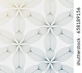 linear vector pattern ... | Shutterstock .eps vector #658189156