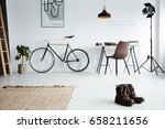 classic studio interior with... | Shutterstock . vector #658211656