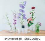 natural herbal cosmetics.... | Shutterstock . vector #658220092