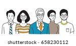 vector illustration character... | Shutterstock .eps vector #658230112