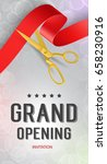 grand opening invitation... | Shutterstock .eps vector #658230916