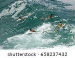 leblon beach  rio de janeiro ...   Shutterstock . vector #658237432
