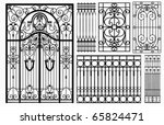 Wrought Iron Gate And Fence....