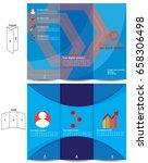 brochure template design | Shutterstock .eps vector #658306498