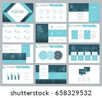 page layout design template for ... | Shutterstock .eps vector #658329532