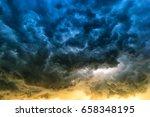 Rain Clouds Before Rain Storms.