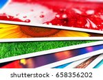 creative abstract digital... | Shutterstock . vector #658356202