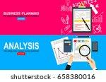 flat design illustration... | Shutterstock .eps vector #658380016