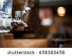 vintage faucet tap made from...   Shutterstock . vector #658383658