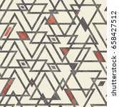 seamless abstract  pattern with ... | Shutterstock .eps vector #658427512